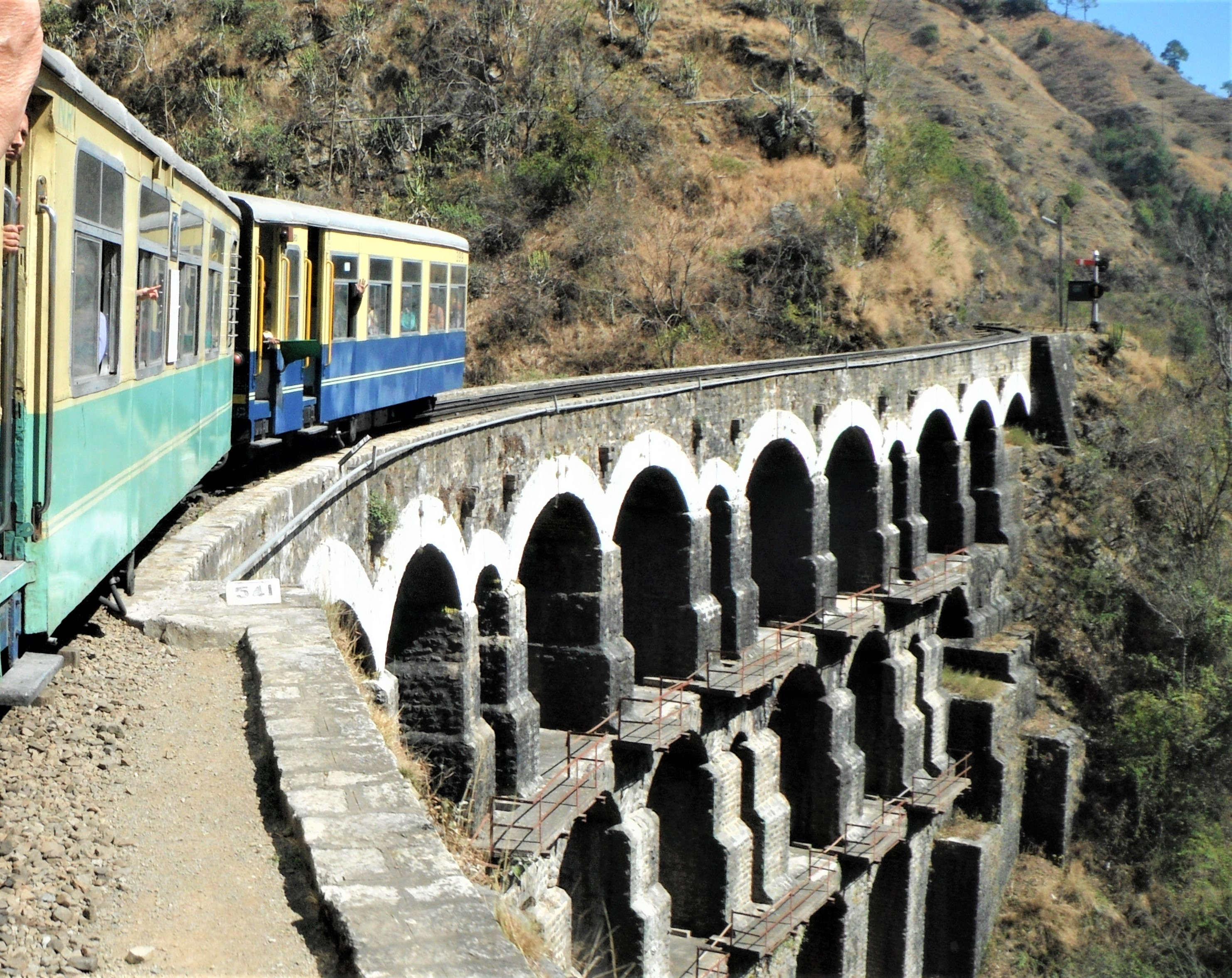 On the way to Shimla in northern India